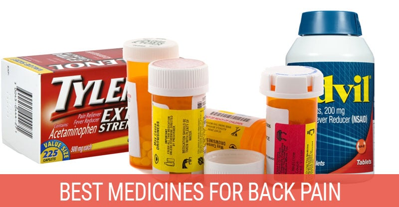 What S The Best Medicine For Back Pain Backpained Com