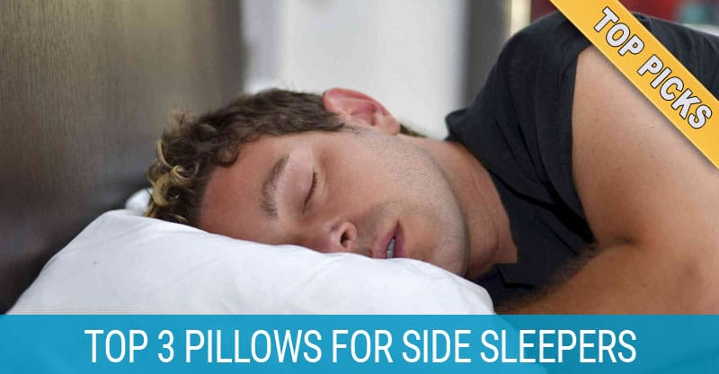 4 best pillows for side sleepers in 2019 for less neck and shoulder pain. Black Bedroom Furniture Sets. Home Design Ideas