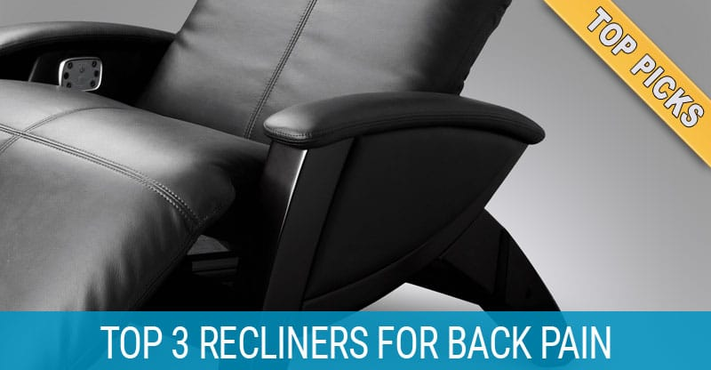 Kick back and relax best recliners for back pain for Best furniture for bad backs