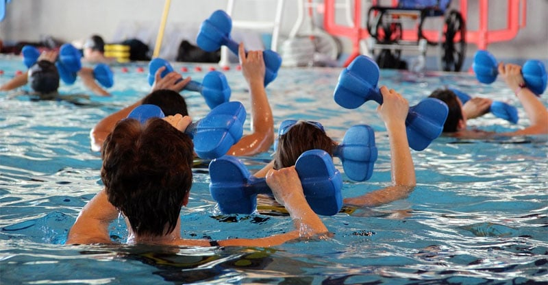 water therapy for back pain
