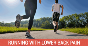 lower back pain when running